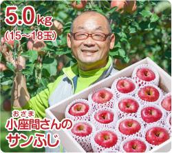 小座間さんのサンふじ(51-M)
