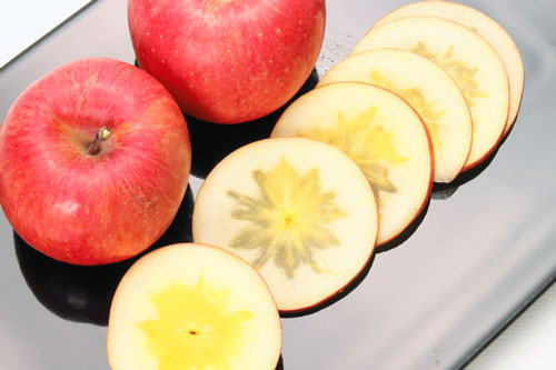 りんご こうとく 蜜入りりんご
