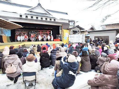 黒森歌舞伎 雪中芝居 山形