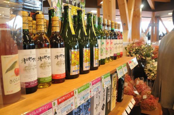 朝日町ワインは有名なワイン醸造所として人気が高い