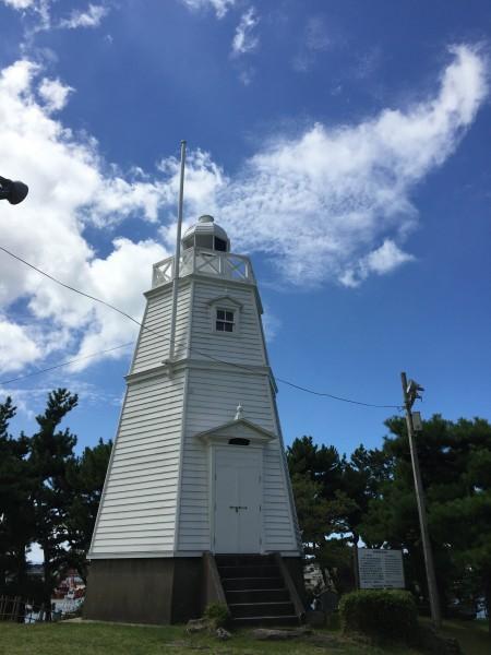 明治期に建てられた六角灯台