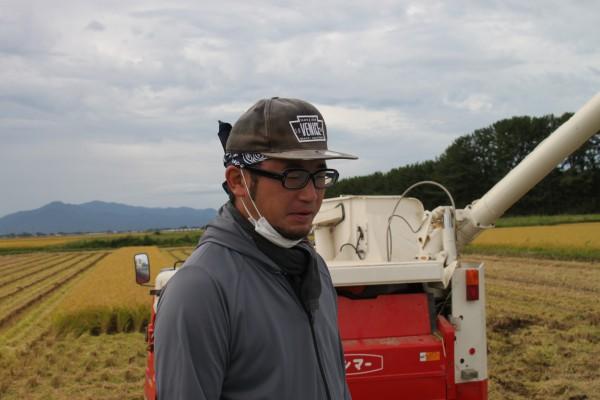 高橋さん農業界では若いのに好奇心がいっぱいの農業者だ