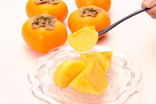 柿 庄内柿 種なし柿