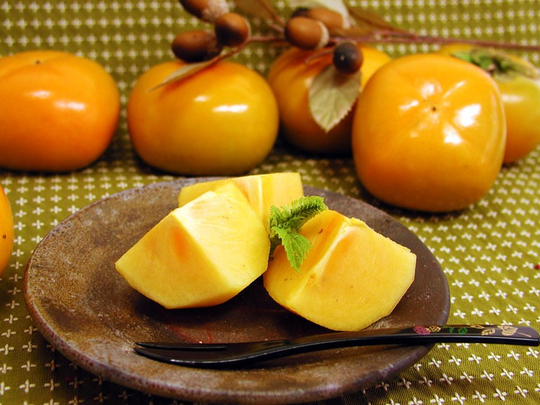 庄内柿 柿 種なし柿