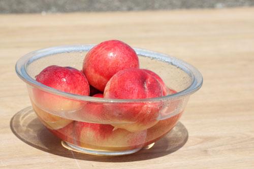 桃の洗い方 山形の桃 桃の通販