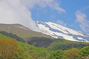 氷河水 天然水 鳥海山