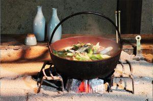 芋煮会 山形蕎麦 寒だら鍋